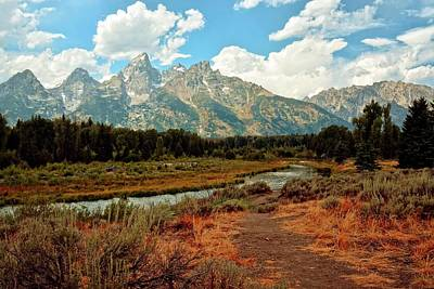 Photograph - Tetons Grande 5 by Marty Koch
