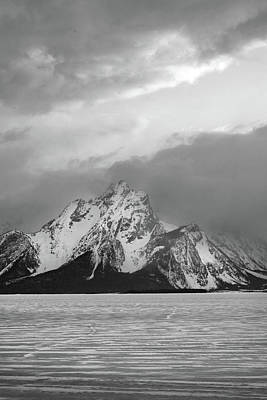 Photograph - Tetons Jackson Lake 10 by Jeff Brunton