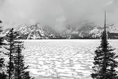 Photograph - Tetons Jenny Lake 3 by Jeff Brunton