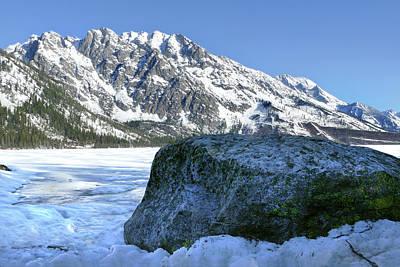 Photograph - Tetons Jenny Lake 6 by Jeff Brunton