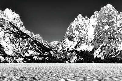 Photograph - Tetons Jenny Lake 9 by Jeff Brunton