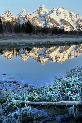 Photograph - Tetons Morn 19 by Jeff Brunton