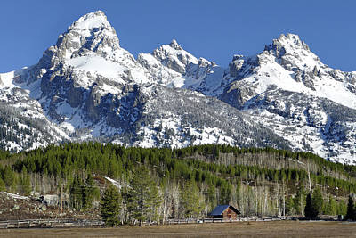 Photograph - Tetons Morn 28 by Jeff Brunton