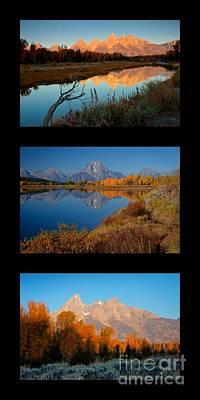 Photograph - Tetons Park Trio by Idaho Scenic Images Linda Lantzy