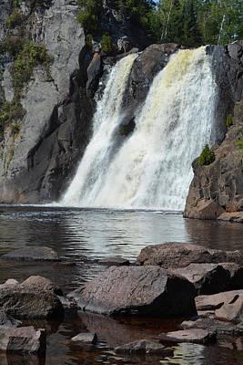 Photograph - Tettegouche Falls Portrait by Kyle Hanson