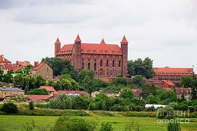 Photograph - Teutonic Castle In Gniew Poland by Elzbieta Fazel