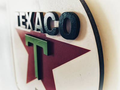 Photograph - Texaco by Adam Vance