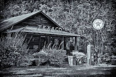 Photograph - Texaco by Debby Richards
