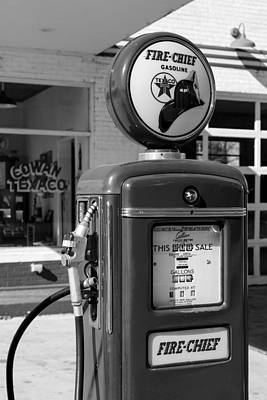 Old Texaco Gas Station Photograph - Texaco Fire-chief #3 by Stephen Stookey