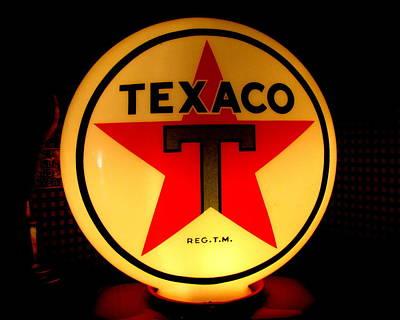 Texaco Art Print by Lisa Jayne Konopka