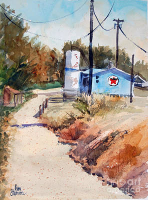 Painting - Texaco by Ron Stephens