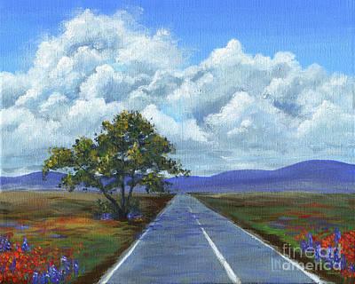 Painting - Texan Highway by Lisa Norris