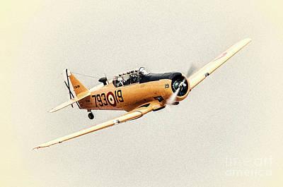 Photograph - Texan T-6 by Hernan Bua
