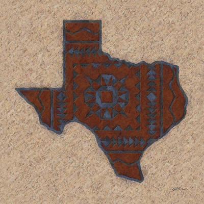 Texas 1 Art Print