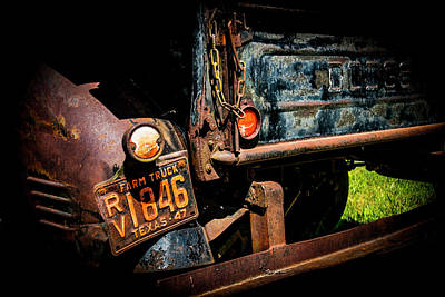 1947 Dodge Truck Photograph - Texas 47 by Ed Ostrander