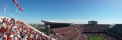 Photograph - Texas A M Stadium Panorama by Kenny Glover