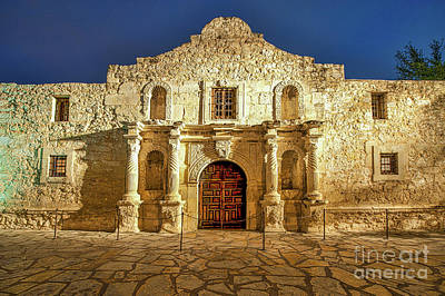 Texas Photograph - Texas Alamo by Tod and Cynthia Grubbs