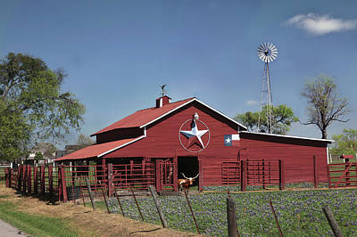 Photograph - Texas Barn by Robert Camp