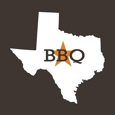 Digital Art - Texas Bbq by Nancy Ingersoll