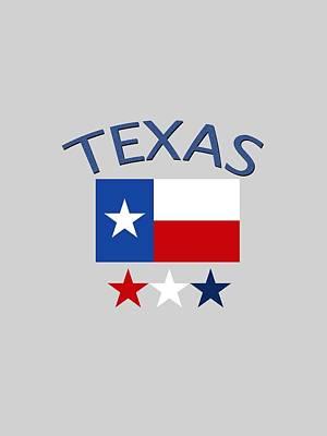 Digital Art - Texas by Bill Owen
