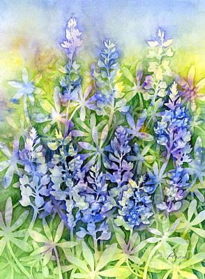 Painting - Texas Blues by Hailey E Herrera