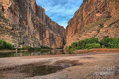 Photograph - Texas Canyon Landscape by Adam Jewell