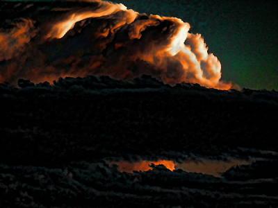 Photograph - Texas Cloudburst 2 by Robert Rhoads
