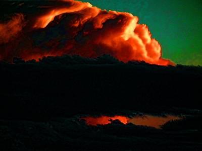 Photograph - Texas Cloudburst by Robert Rhoads