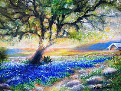 Painting - Texas Fanfare by Patti Gordon
