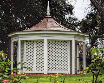 Texas Govenor's Mansion Gazebo Original by Linda Phelps