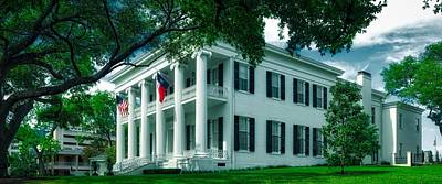 Texas Governor's Mansion Art Print by Mountain Dreams