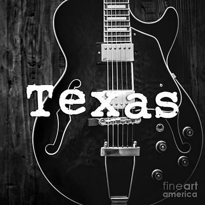 Photograph - Texas Guitar by Edward Fielding