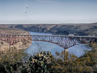 Photograph - Texas High Bridge by Charles McKelroy