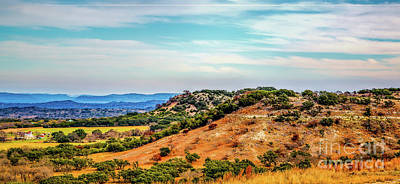 Photograph - Texas Hill Country by Jon Burch Photography