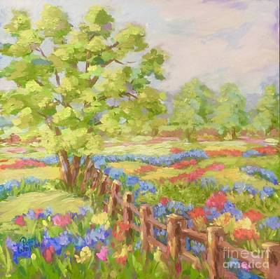 Painting - Texas Hill Country by Patsy Walton