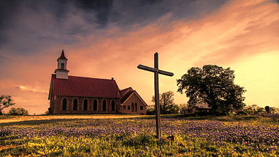 Photograph - Texas Hill Country Sunset by Stephen Stookey