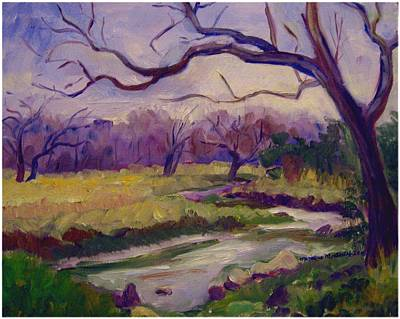 Painting - Texas Hill Country Winter by Monique Montney