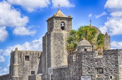 Photograph - Texas Historic Presidio La Bahia by Kristina Deane