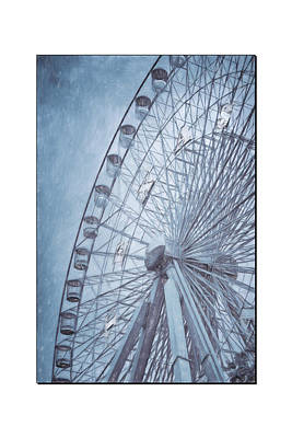 The Circle Game Photograph - Texas Impressions Texas Star II by Joan Carroll