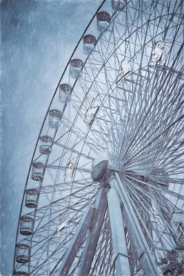 The Circle Game Photograph - Texas Impressions Texas Star by Joan Carroll