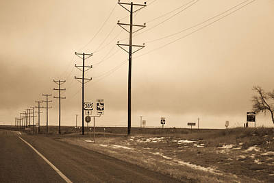 Photograph - Texas Intersection by Marilyn Hunt