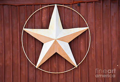 Photograph - Texas Lone Star by Ray Shrewsberry