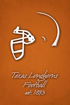 Longhorn Photograph - Texas Longhorns by Joe Hamilton