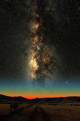 Photograph - Texas Milky Way by Larry Landolfi