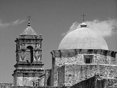 Photograph - Texas Mission  by Catherine Link