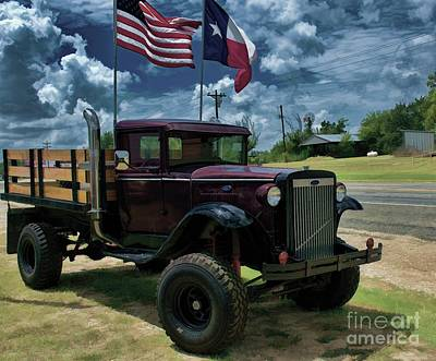 Photograph - Texas Pride by Diana Mary Sharpton