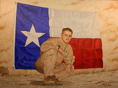 Painting - Texas Pride by Mike Ivey