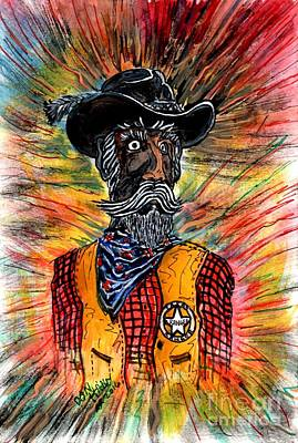 Cowboy Art Collector Painting - Texas Ranger by Don Hand
