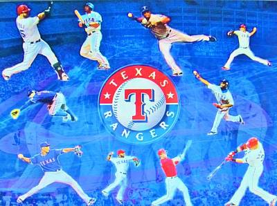 Nolan Ryan Photograph - Texas Rangers 2015 by Donna Wilson