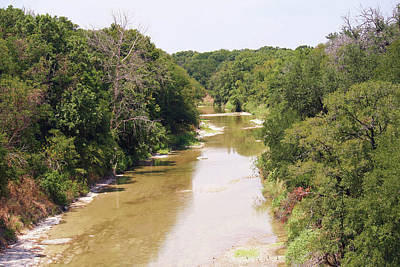 Photograph - Texas River by Catherine Link